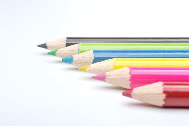 カラフル鉛筆